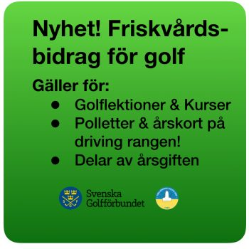 Håll dig frisk med golf!