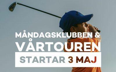 Måndagsklubben & Vårtouren startade 3/5